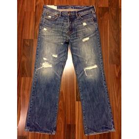 Abercrombie Fitch Calça Jeans Masculina 46 Importada