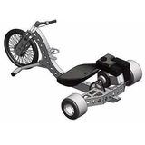 Projeto Completo Triciclo Drift Trike Motorizado+600 Brindes