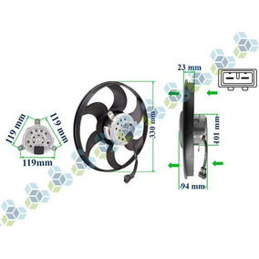 Eletroventilador 12v Gol G2 G3 8v 16v G4 1.0 1.6 1.8 Ar Cond