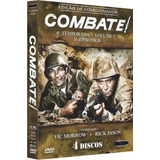 Box Dvd: Combate 4ª Temporada Volume 1 - Original Lacrado