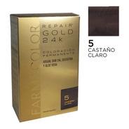 Farmacolor R Gold Cast. Claro N° 5 X 1 Estuche. De Fábrica.