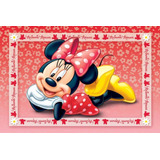 Painel Decorativo Festa Infantil Disney Minnie Mouse (mod4)