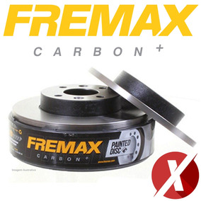 Fremax Bd9000 Disco Freio Diant. Par Corsa 1.8 2002 Em Diant