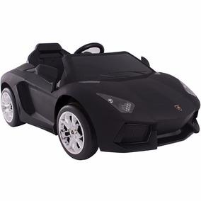 Carrito Electrico Lamborghini Murcielago Color Negro Mate