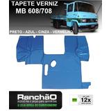 Tapete Verniz Caminhão Mb 608 708 Preto Azul Vermelho Cinza