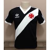 Camisa Retro Vasco 1984 Preta - $ $ . S A L D Ã O . $ $