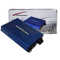 Amplificador Azul Audiobahn 4ch Potencia Suprema 2400w Xaris