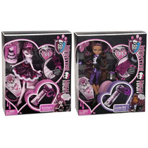 Monster High 1600 Draculaura Y Clawdeen Wolf