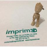 Llavero Baby Groot - Impreso En 3d