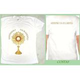 Camiseta Ministro Da Eucaristia Baby Look Feminina