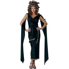 Disfraz De Medusa Sexy Dios Griego Mitología Disfraces De T
