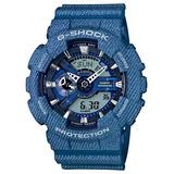 Relógio Casio Modelo Limitado Azul G-shock Ref Ga-110dc-2a