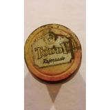 Antiguo Frasco De Vidrio Toddy Vintage Coleccion