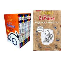 Box Diário De Um Banana Lacrado + Poster + Faça Você Mesmo