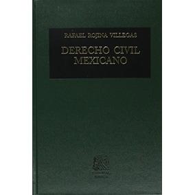 Libro Derecho Civil Mexicano 5 Volumen 1 Obligaciones