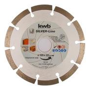 Disco Acanaladora De Muro 125mm Diamantado Segmentado 5 PuLG
