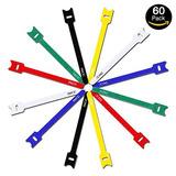 Ixcc 60 Paquetes De Ataduras De Cables De