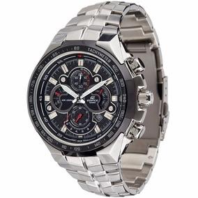 Relógio Casio Masculino Edifice Ef554 Com Caixa