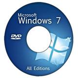 Cd/dvd Formatação Wind©ws 7 -ativação Automática Original