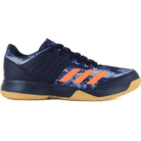adidas Voley Handball Tenis Ligra 5 Multisuperficie Azul