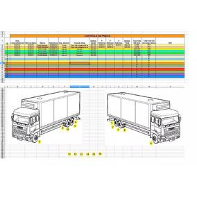 Planilha Para Controle De Frotas/transporte - Caminhões
