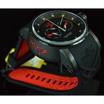 Relógio Invicta S1 Ninja 12787 Original Vermelho Preto G72