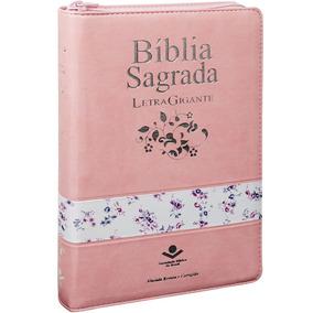 Bíblia Sagrada Letra Gigante Sbb Almeida Revista Corrigida