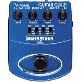 Gdi21 Pedal Behringer V-tone Gdi 21 P/ Guitarra