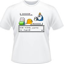 Camiseta Adventure Time Hora De Aventura Camisa Finn Jake 2