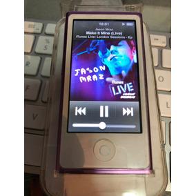 ]]] Ipod Nano 7ª Gen 16gb Purpura / Bluetooth Como Nuevo [[[