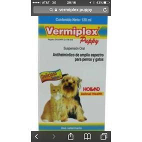 Desparasitante P/cachorros 120ml Perro O Gato Incluye Envío