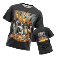 Camiseta Kiss End Of The Road Tour 2019 Stamp For All