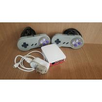 Video Game Retro Raspberry Pi 3 + 2 Controles Snes
