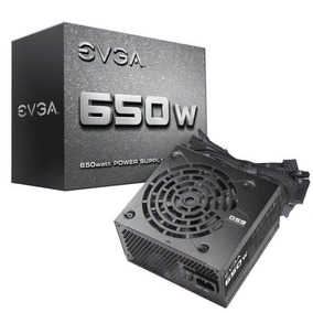 Fuente Poder Evga 650 Watts Certificada Garantia