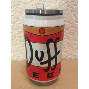 Termo Lata Cerveza Duff Simpson Envio Gratis