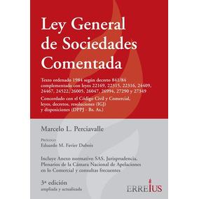 Ley General De Sociedades Comentada - Rústica - Erreius