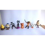Gato Con Botas Colección, 8 Muñecos Nueva Lista Para Regalar