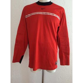 Jersey Portero Marca Nike Color Rojo Vintage Años 90 De Époc