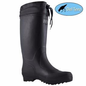 Botas De Lluvia Caña Alta Ajustables Portter Talles 38 A 46