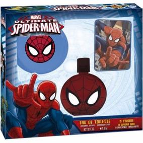 Kit Perfume Spiderman Homem Aranha