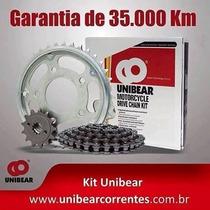Kit Relação Unibear C/ Retentor Honda Nxr 150 Bros Mix+brind