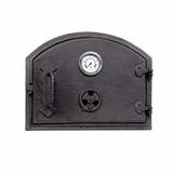 Puerta Hierro Horno De Barro Pirometro + Regulador (vk0067)