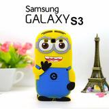 Carcasa 3d Minions Cover Para Celular Samsung Galaxy S3