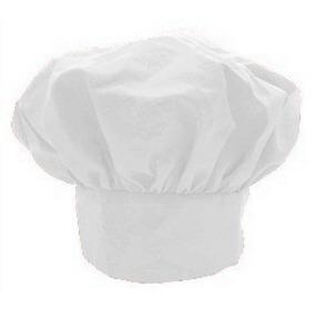 Sombrero Ajustable De La Tela Cruzada Blanca Chef De Cocina