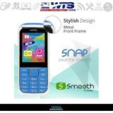 Telefono Celular Smooth Snap Con Forro Silicon