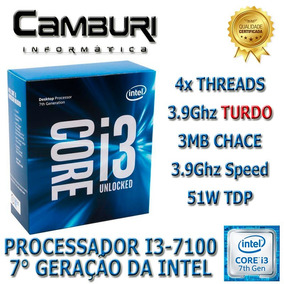 Processador Intel Core I3 7100 3mb Cache 3,90 Ghz Lga 1151