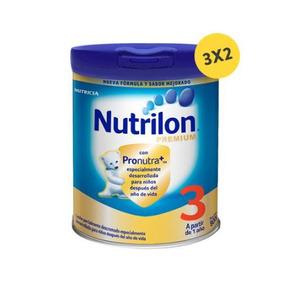 Pack Nutrilon Premium 3 De 800 G. 3 Unidades. Unidades: 3 Nu