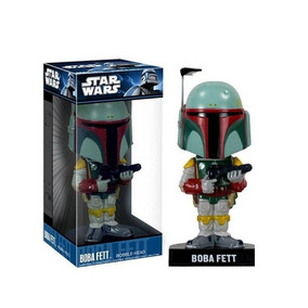 Figura Boba Fett Wacky Wobbler Bobble-head Star Wars Funko