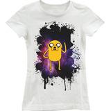 Camisa Camiseta Feminina A Hora Da Aventura Jake