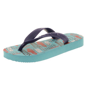 Chinelo Infantil Masculino Cars Azul Havaianas - 4123463